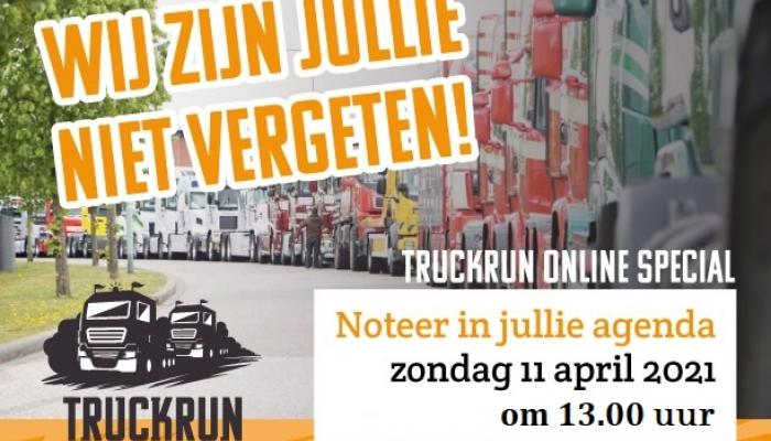 Online Truckrun Special: 11 april om 13.00